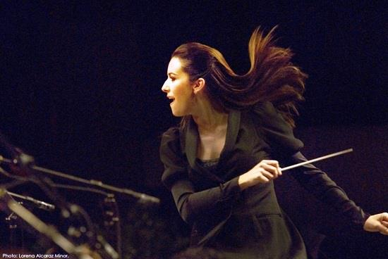 Internationally renowned conductor, Alondra de la Parra